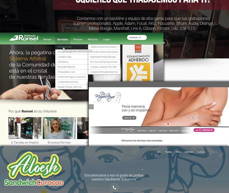 PÁGINAS WEB/ Empresas y emprendedores